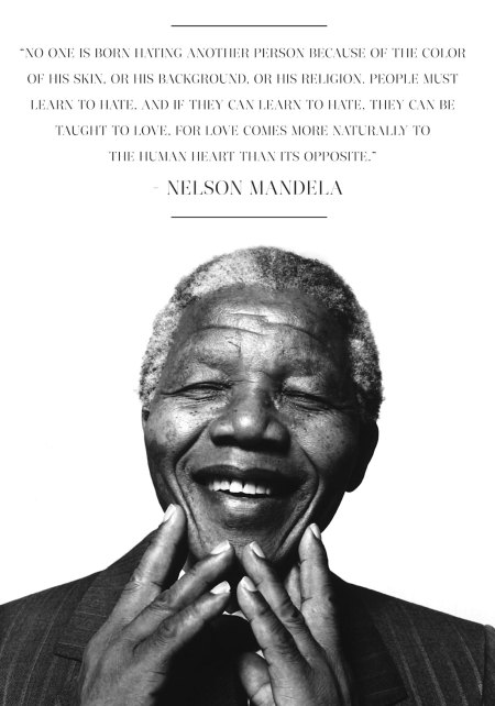 A favorite of many Mandela quotes.